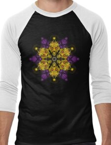 Fractal Tnemele Men's Baseball ¾ T-Shirt