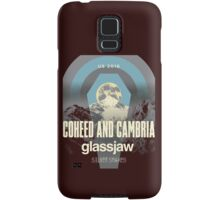 coheed and cambria the color before the sun Tour 2016 AM1 Samsung Galaxy Case/Skin