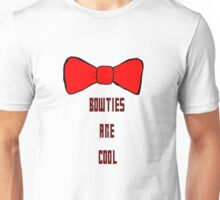 Bowties are cool Unisex T-Shirt