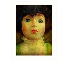 Vintage Victorian Doll Art Print