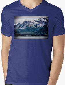 Alaskan Glacier Mens V-Neck T-Shirt