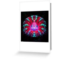 Mushroom Meditation Greeting Card