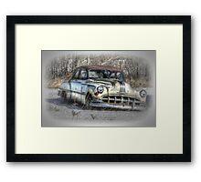 Classic Cruiser Framed Print