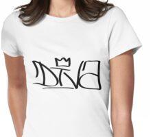 Diva Graffiti Womens Fitted T-Shirt