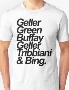 friends sobrenomes T-Shirt