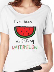 Watermelon Women's Relaxed Fit T-Shirt