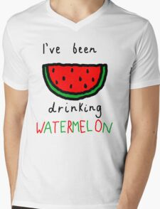 Watermelon Mens V-Neck T-Shirt