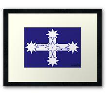 Freedom Of Association Eureka Flag Framed Print