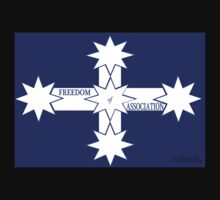 Freedom Of Association Eureka Flag Baby Tee