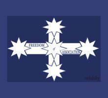 Freedom Of Association Eureka Flag by rockabilby