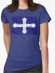 Freedom Of Association Eureka Flag Womens Fitted T-Shirt