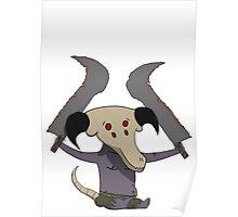 Cute Capra Demon Poster