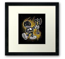Vintage Black Ranger Framed Print