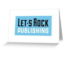 Let's Rock Publishing - Logo Greeting Card