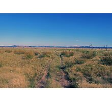Path to the middle of nowhere Photographic Print