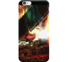 Colored Flames iPhone Case/Skin