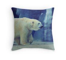 Cool Bear Throw Pillow