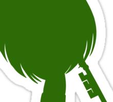 Pluto Green Sticker