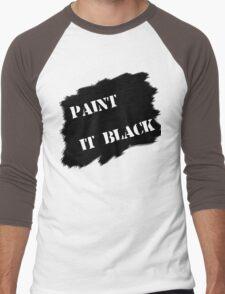 Paint it black Men's Baseball ¾ T-Shirt