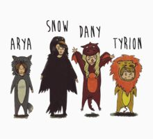 Game of Thrones Kids by AmHomer