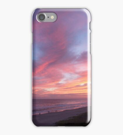 Fiery Outer Banks Sunset iPhone Case/Skin