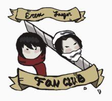 Eren Jaeger Fan Club T-Shirt by Hayden Kyd