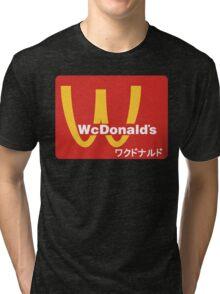WcDonald's Tri-blend T-Shirt