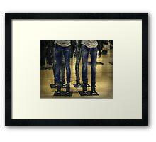 Duplicate Denims Ditto Framed Print