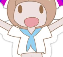 Mako Friendship! 友情 Sticker