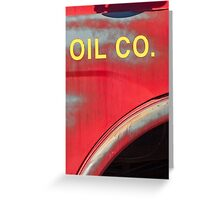oil Greeting Card