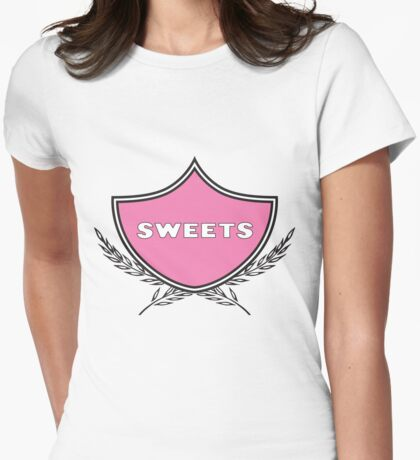 Pink Sweets Womens Fitted T-Shirt