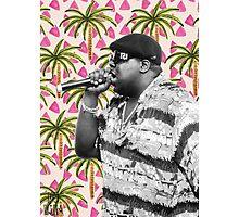 Biggie in Paradise Photographic Print