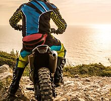 Enduro bike rider by homydesign