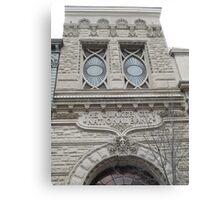 Classic Architecture, Chestnut Street, Philadelphia, Pennsylvania Canvas Print