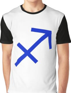 Sagittarius Symbol Graphic T-Shirt