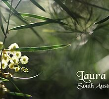 Green & Gold { wattle } by LauraSoapShoppe