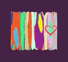 Watercolor palette in stripes Unisex T-Shirt