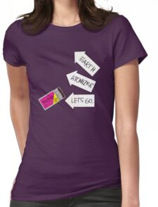 Big Black - Atomizer Womens Fitted T-Shirt