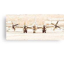 B-29 FIFI (Line Art) Canvas Print