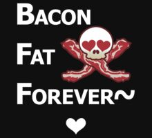 Miscellaneous - bacon fat forever - dark Kids Clothes