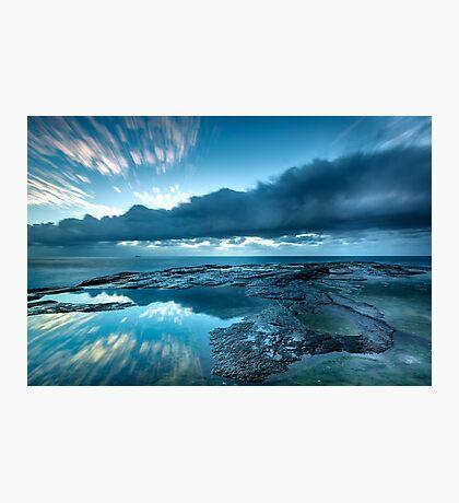 An Ocean Crater Photographic Print