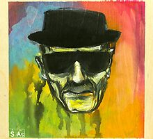 HeISENBERG by sasillustration