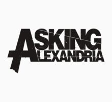 Asking Alexandria - Logo by Olivia Mendoza