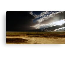 Storm Clouds Over The Isthmus Canvas Print