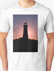 Lighthouse during sunrise in the early morning T-Shirt