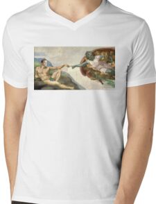 The Creation of Kirk Mens V-Neck T-Shirt