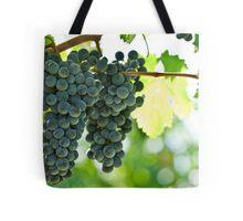 Ripe red wine grapes  Tote Bag