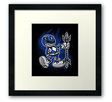Vintage Blue Ranger Framed Print