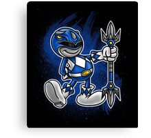 Vintage Blue Ranger Canvas Print