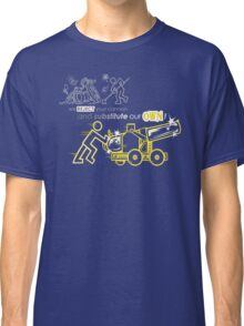 We Reject Your Cannon (Yellow Version) Classic T-Shirt